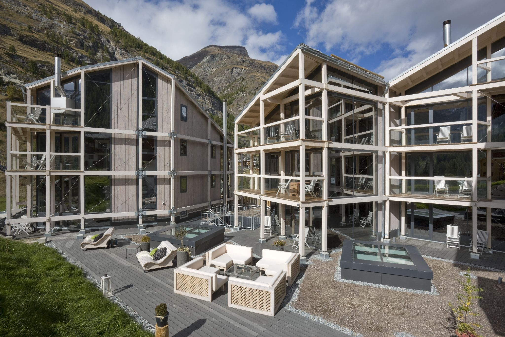 Guide de l h tellerie suisse for Design hotel zermatt