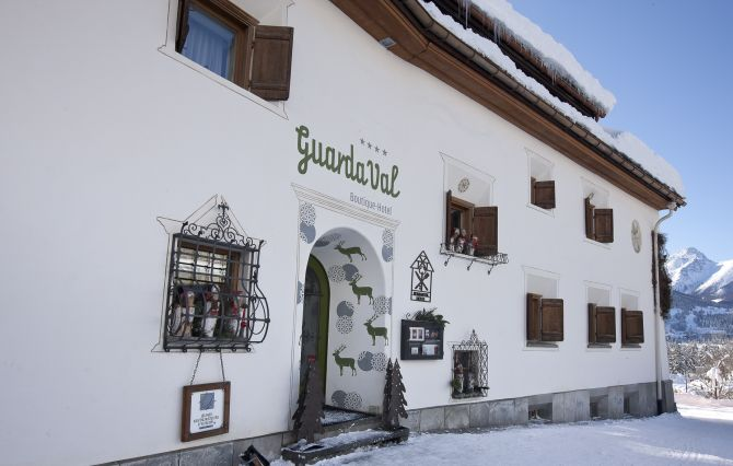 Romantik & Boutique-Hotel GuardaVal im Winter
