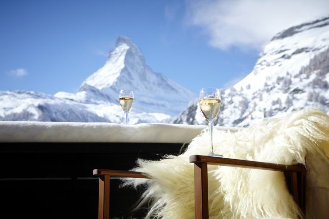 Winter Ausblick Hotel