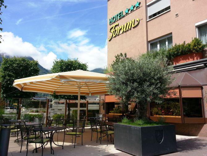 Terrasse - Restaurant l'Olivier