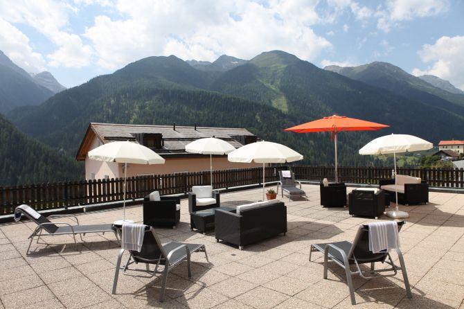 Terrasse für unsere Hausgäste