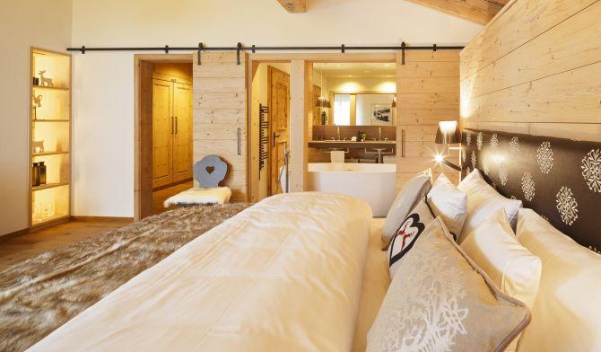 Appartement Deluxe Alpenchic 120 m2 - Badezimmer