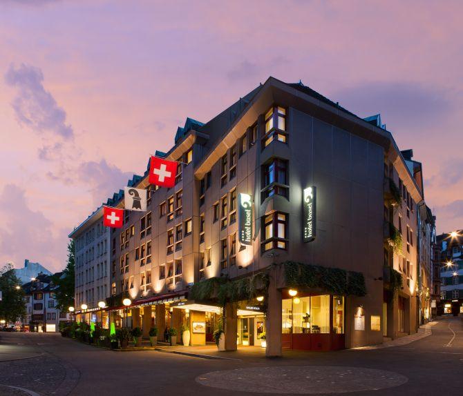 Hotel Basel Aussenansicht