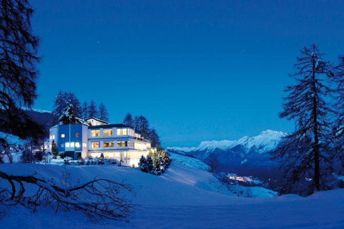 Hotel Panorama Aussenansicht Winter
