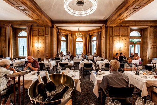 Restaurant im Hotel Belvédère