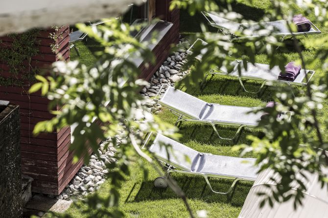 Garten Hotel Belvédère