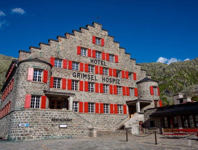 Grimsel Hotel Aussichen