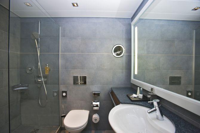 Badezimmer Haus Park