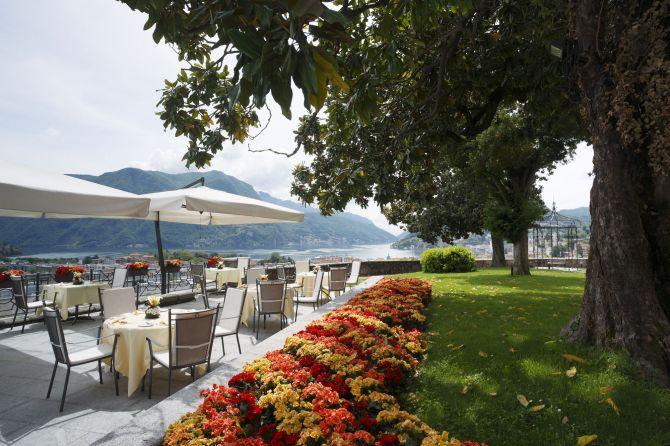Restaurant Ai Giardini di Sassa Terrace
