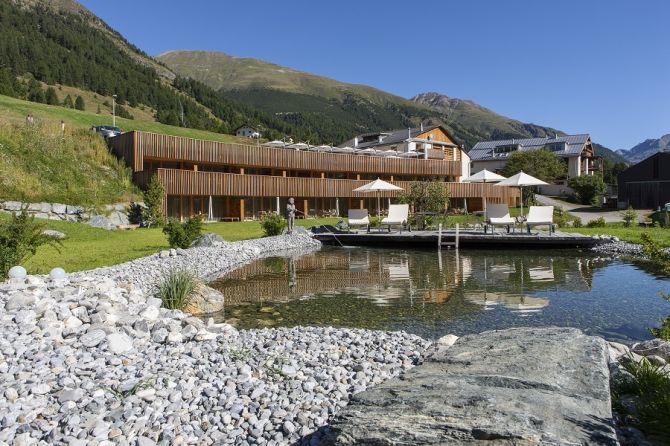 Sommer im IN LAIN Hotel Cadonau