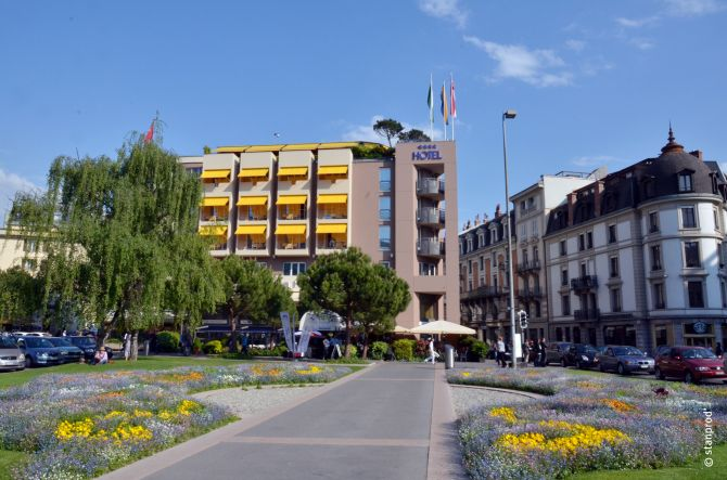 Astra Hotel Vevey - Montreux Riviera