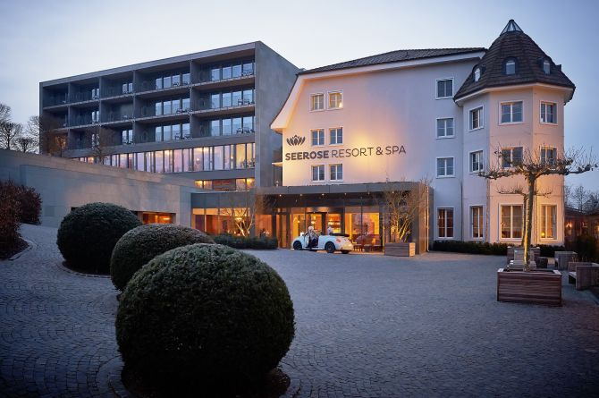 Seerose Resort & Spa Vorplatz