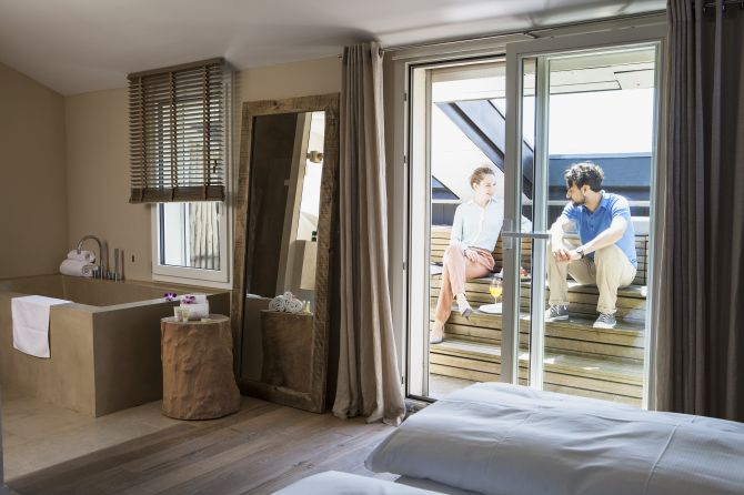 Classic Zimmer Balcony