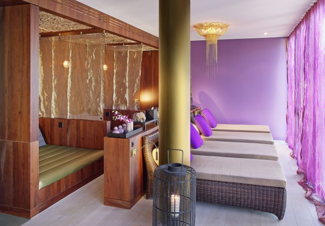 Cocon-Thai-Spa Ruheraum