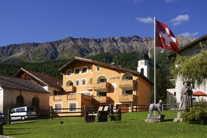 Aussenansicht Hotel Landgasthof Staila