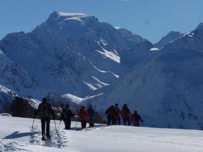 Schneeschuhwandern Val Müstair