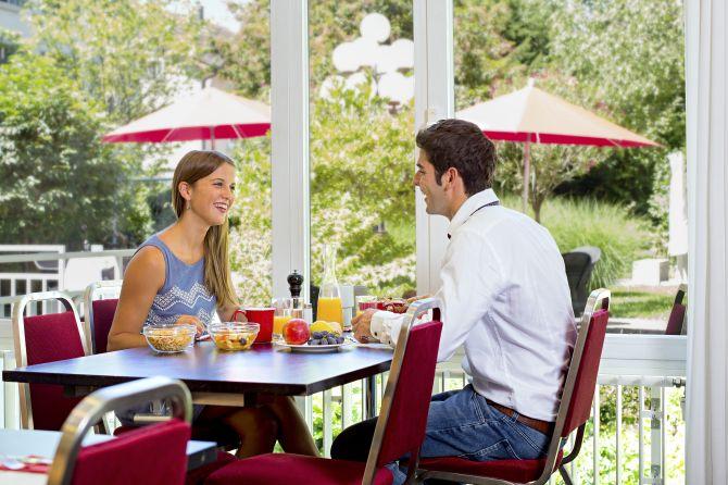 Frühstück im Hofgarten