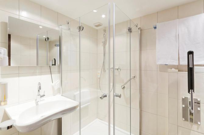 Hotel Olten Badezimmer