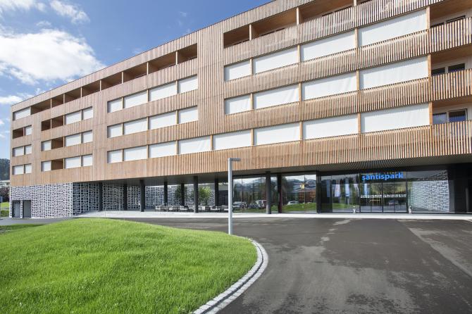 Aussenansicht Hotel Säntispark