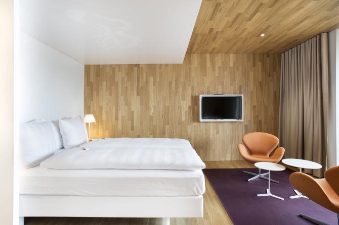 Deluxe Zimmer Haus Säntis