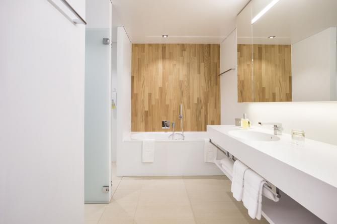 Badezimmer Deluxe Zimmer Haus Säntis