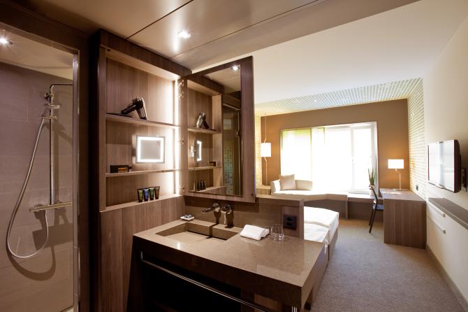 Badezimmer Einzel-/Doppelzimmer
