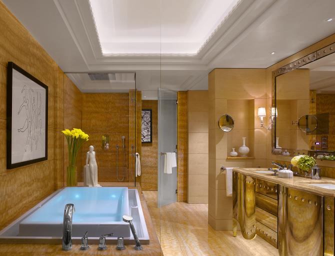 Salle de bain - Suite Présidentielle Bergues