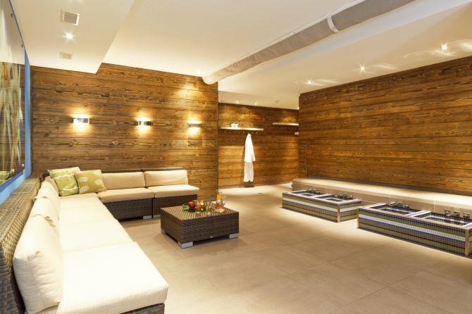 Wellnessbereich Hotel Piz Buin Klosters