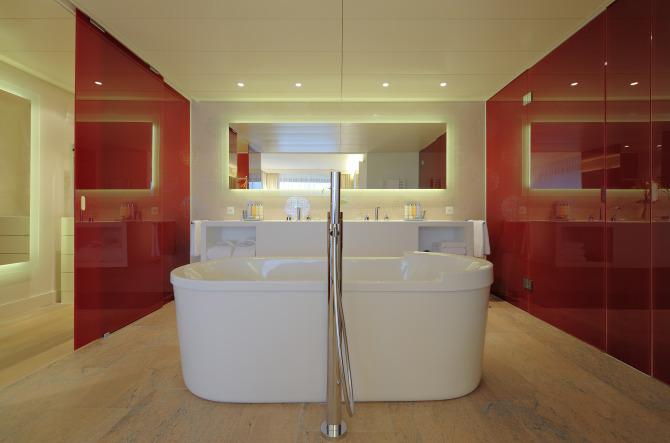 Badezimmer 'Presidential Suite'