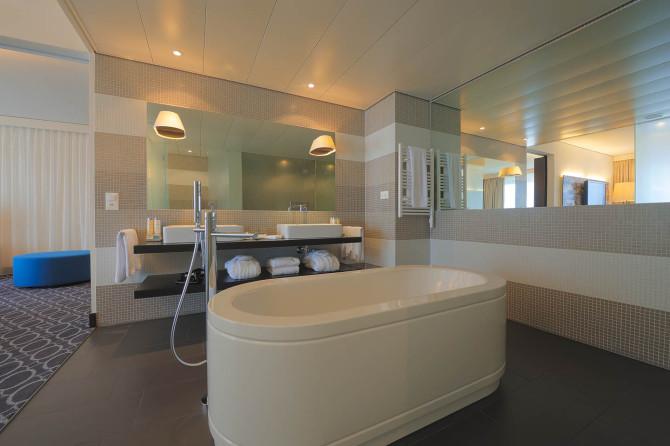 Badezimmer 'One Bedroom Suite'