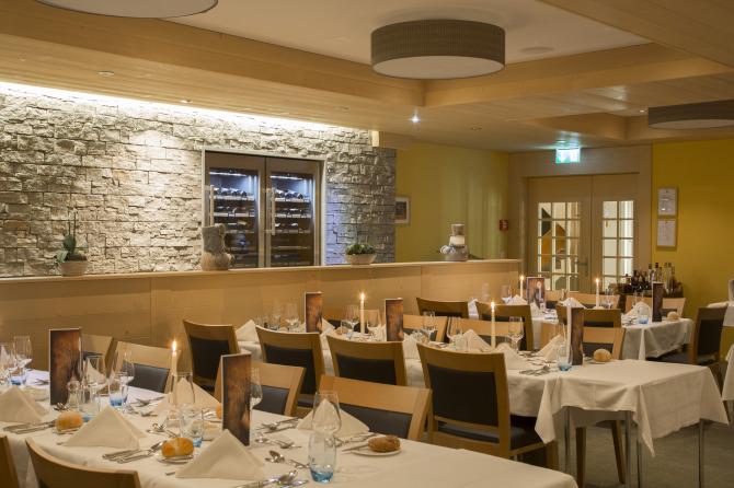 Restaurant at Sunstar Alpine Hotel Wengen, Switzerland