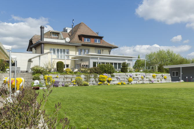 Golf-Pavillon