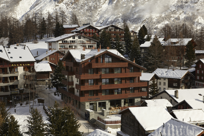 The Capra in winter