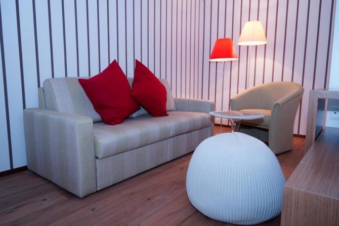 Sitzecke Deluxe Doppelzimmer