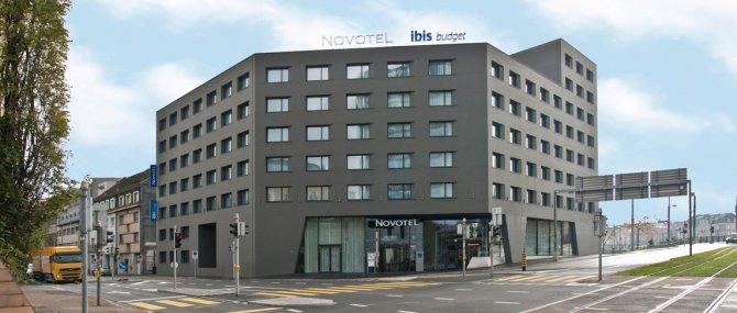 Willkommen im Novotel Basel City