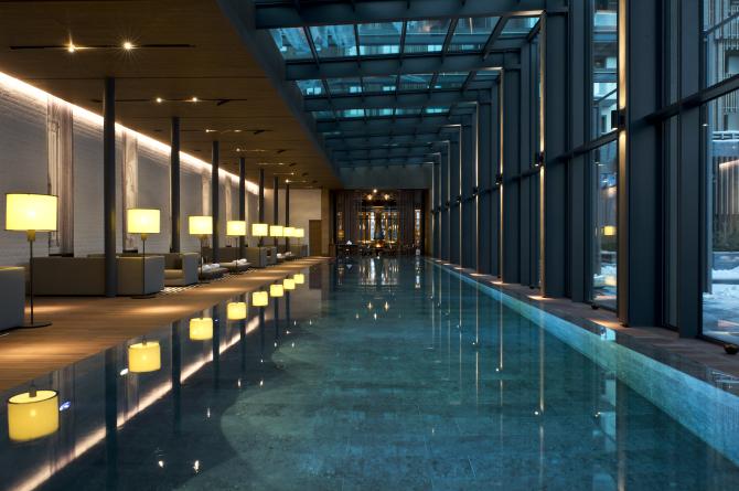 THE CHEDI ANDERMATT, The Pool