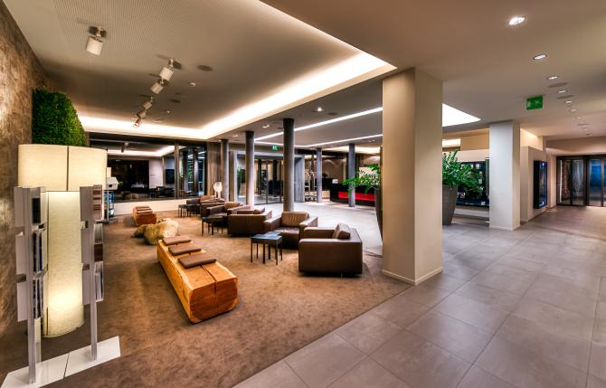 Lobby und Reception