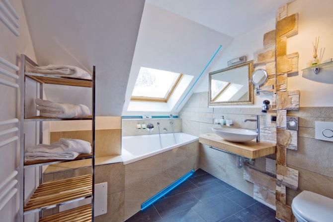 Badezimmer im Adlerhorst
