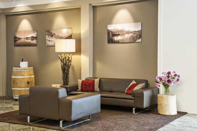 Hotel Schweizerhof Sils-Maria Lounge