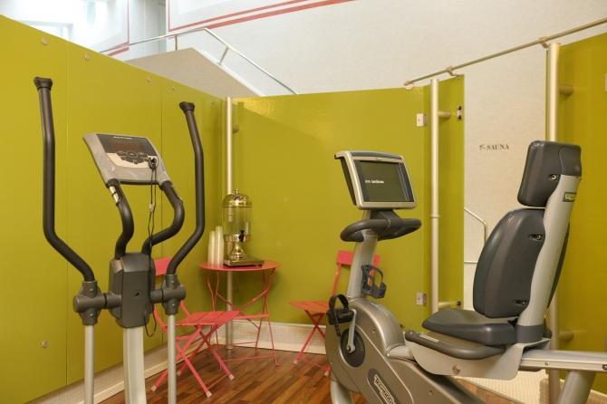 Hotel Schweizerhof Sils-Maria Fitnessraum