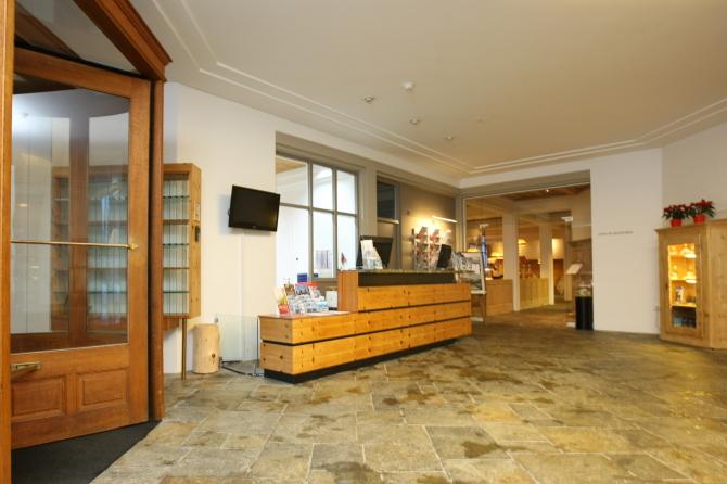 Hotel Schweizerhof Sils-Maria Lobby