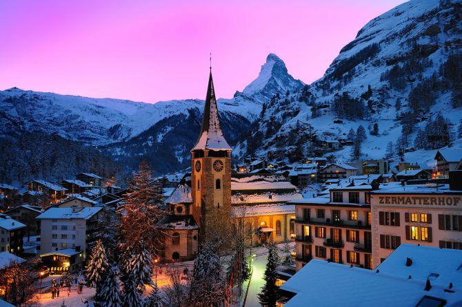 Grand Hotel Zermatterhof und Matterhorn