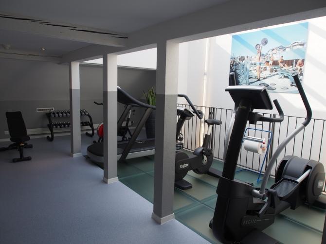 Fitnessraum im Partnerhotel