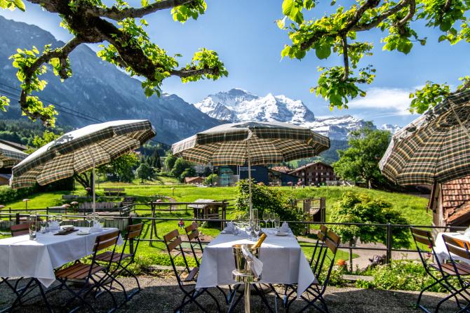 Restaurant Sommerterrasse