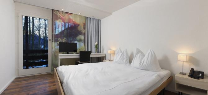 Doppelzimmer mit Bergsicht