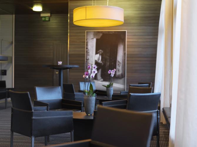 Lounge vor dem Seeblick-Saal