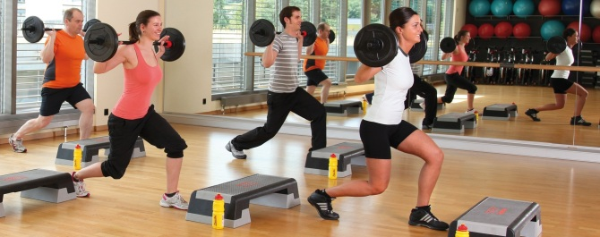 Group Fitness Angebot