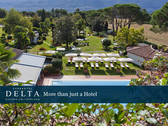 Parkhotel Delta Wellbeing Resort Hotel in Ascona