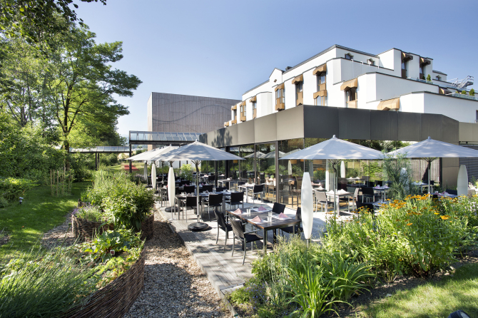 Restaurant Schnabelweid Terrasse