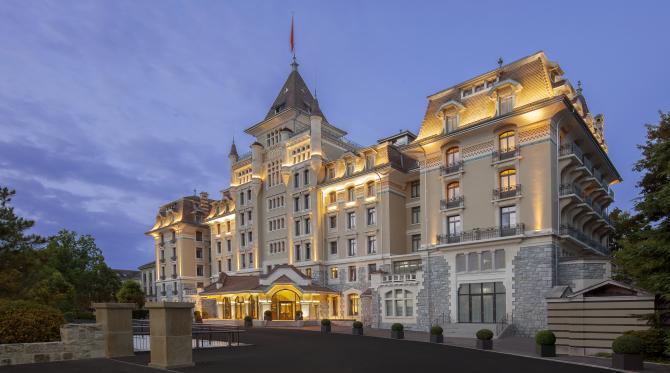Hotel Royal Savoy Facade